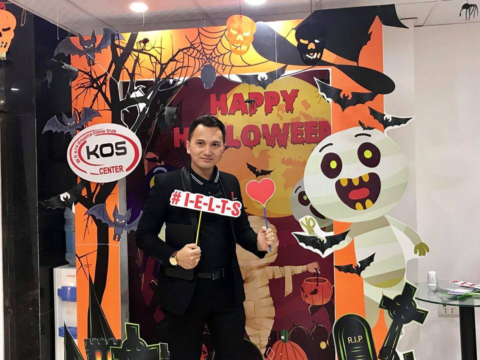 LỄ HỘI HALLOWEEN tại KOS English Center.