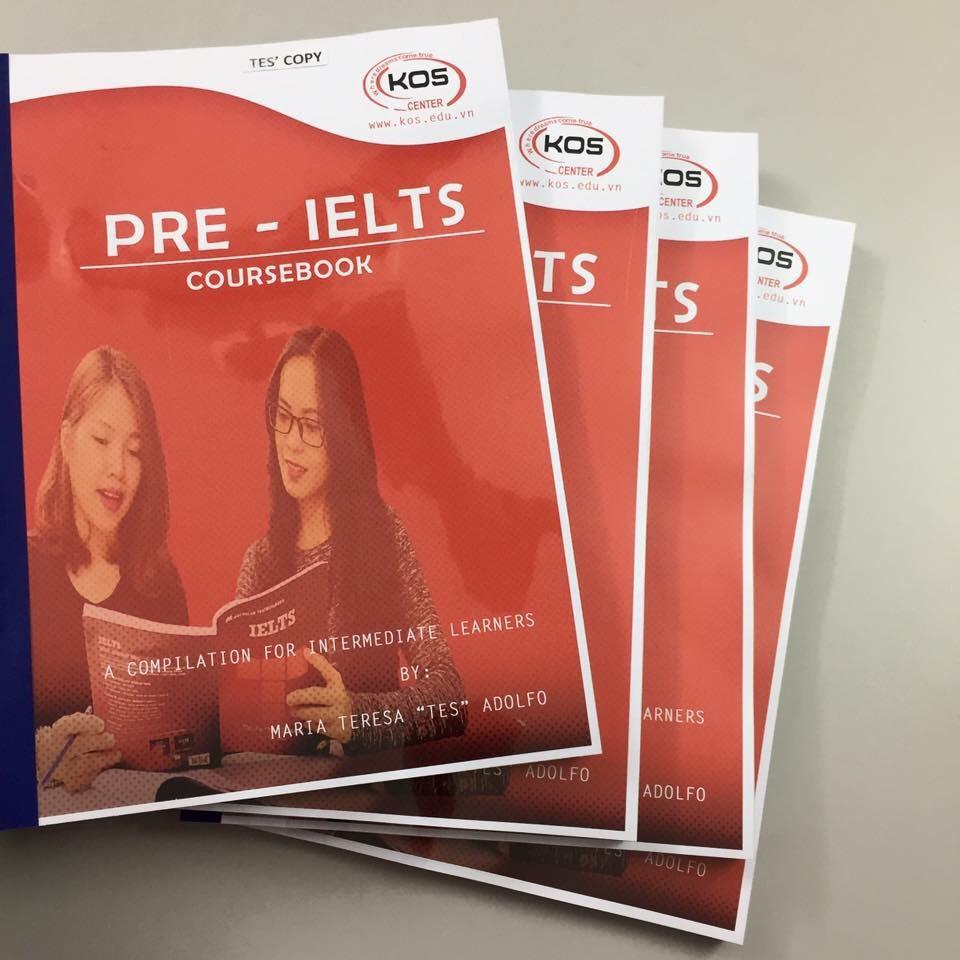 Khóa học luyện thi IELTS-tổng hợp kiến thức ngoại ngữ tốt nhất