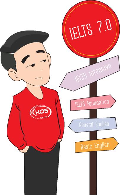 KOS trung tâm luyện thi IELTS cấp tốc tại Hà Nội chất lượng cao
