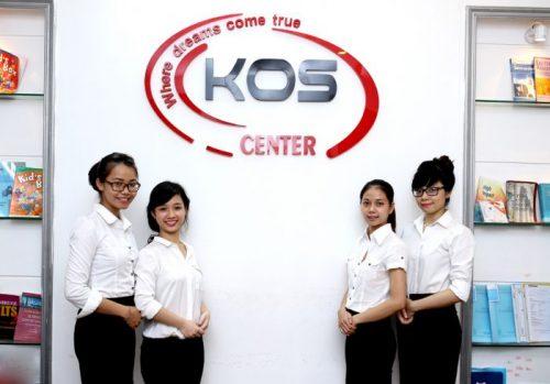 KOS ENGLISH CENTER tự hào là trung tâm luyện thi ielts 5.0 uy tín tại Hà Nội