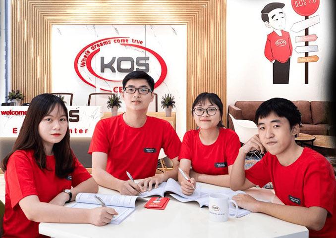 KOS - Trung tâm luyện thi ielts tốt ở hà nội