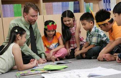 KOS với các khóa học dạy tiếng anh trẻ nhỏ theo giáo trình quốc tế