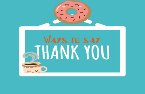 "Different ways to say ""Thank you"" in English 1"