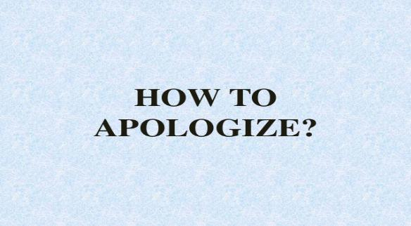 Unit 12: Mistakes and apologies