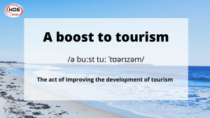 Collocation chủ đề Tourism