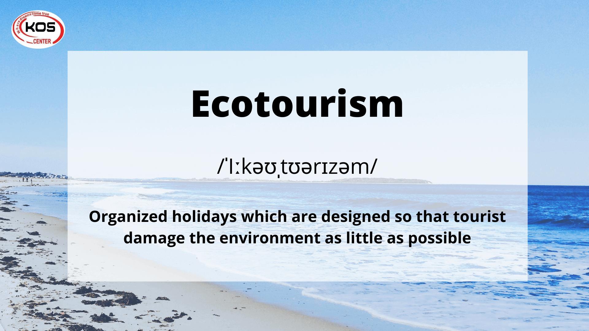 Collocation chủ đề Tourism 5